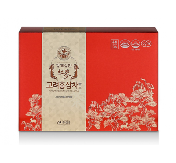 Trà hồng sâm Korean Red Ginseng Tea Gold